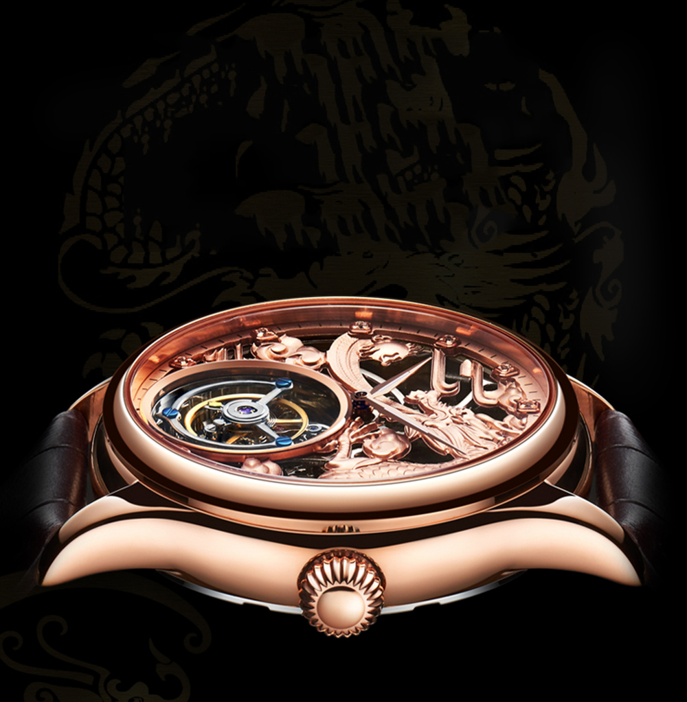 New GUANQIN Original Tourbillon watch men top brand luxury waterproof skeleton Sapphire Mechanical Tourbillon relogio masculino 15