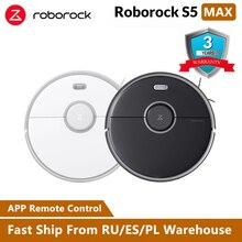 Roborock S50 S55 Xiaomi робот пылесос 2 для дома mi умный ковер очистка пыли влажная уборка Роботизированная плановая Чистка