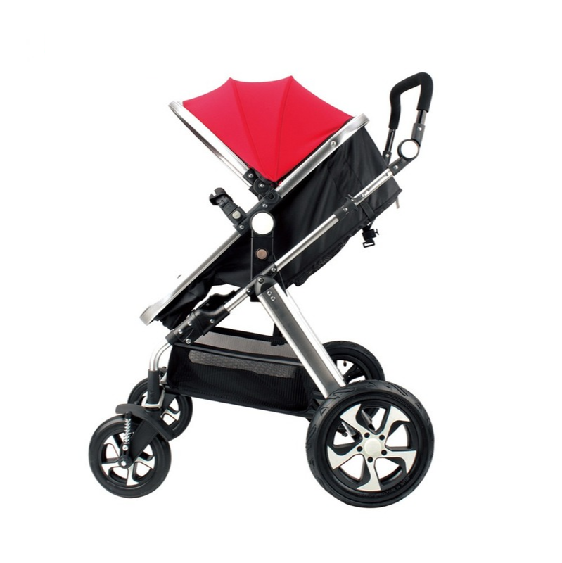 Hot-selling Baby Stroller High Landscape Baby Stroller Trolley Shock-absorbing Light Can Lie Down and Can Sit Baby Stroller