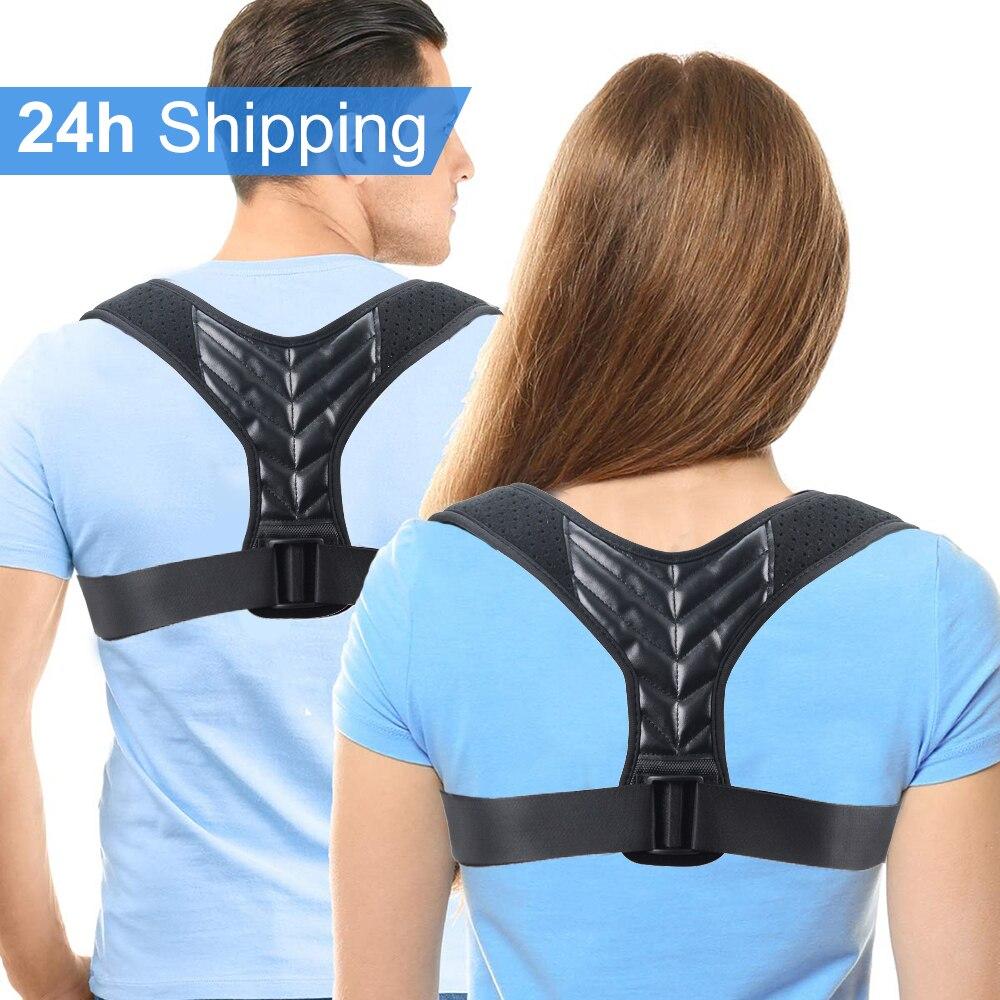 Back Posture Corrector Corset Clavicle Spine Posture Correction Back Support Belt For Men Women