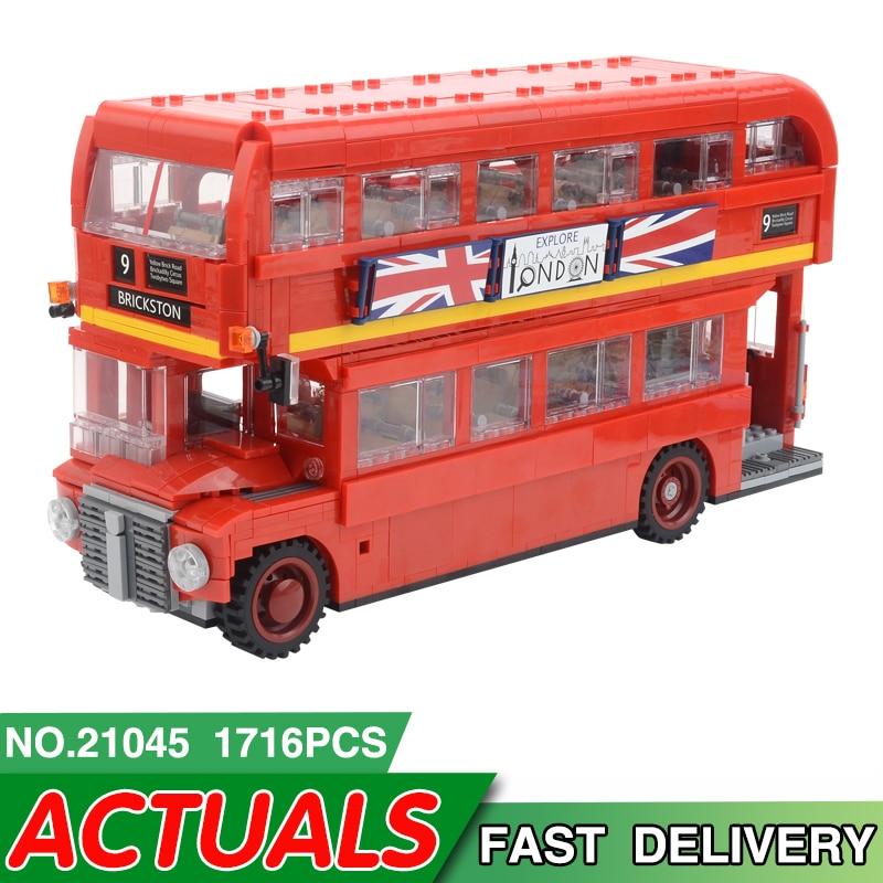 21045 London Bus 23006 23003 23018 Modell Gebäude Kit Blöcke Bricks Geschenk Spielzeug für Kinder legoing Technik McLaren P1 Racing auto-in Sperren aus Spielzeug und Hobbys bei  Gruppe 1