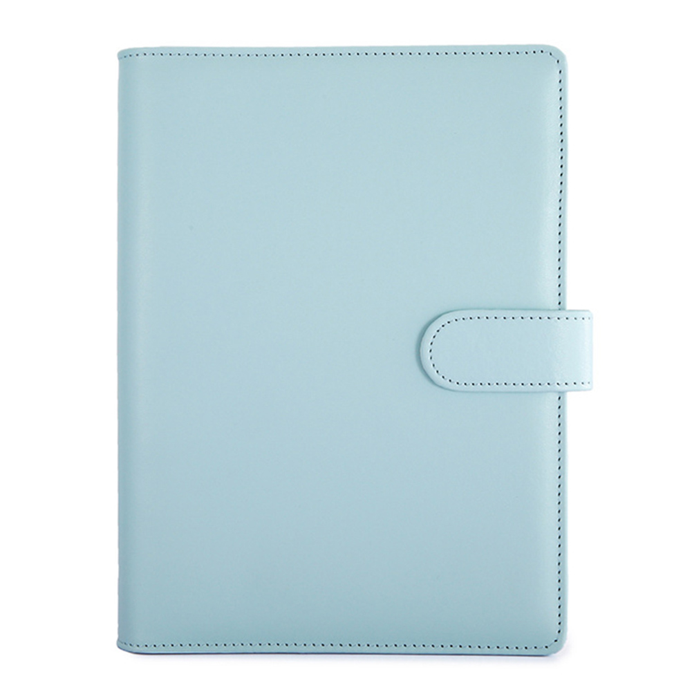 Hot Sale Classic Loose Leaf Ring Binder Notebook Planner Diary Notebook Cover PU Leather Cover