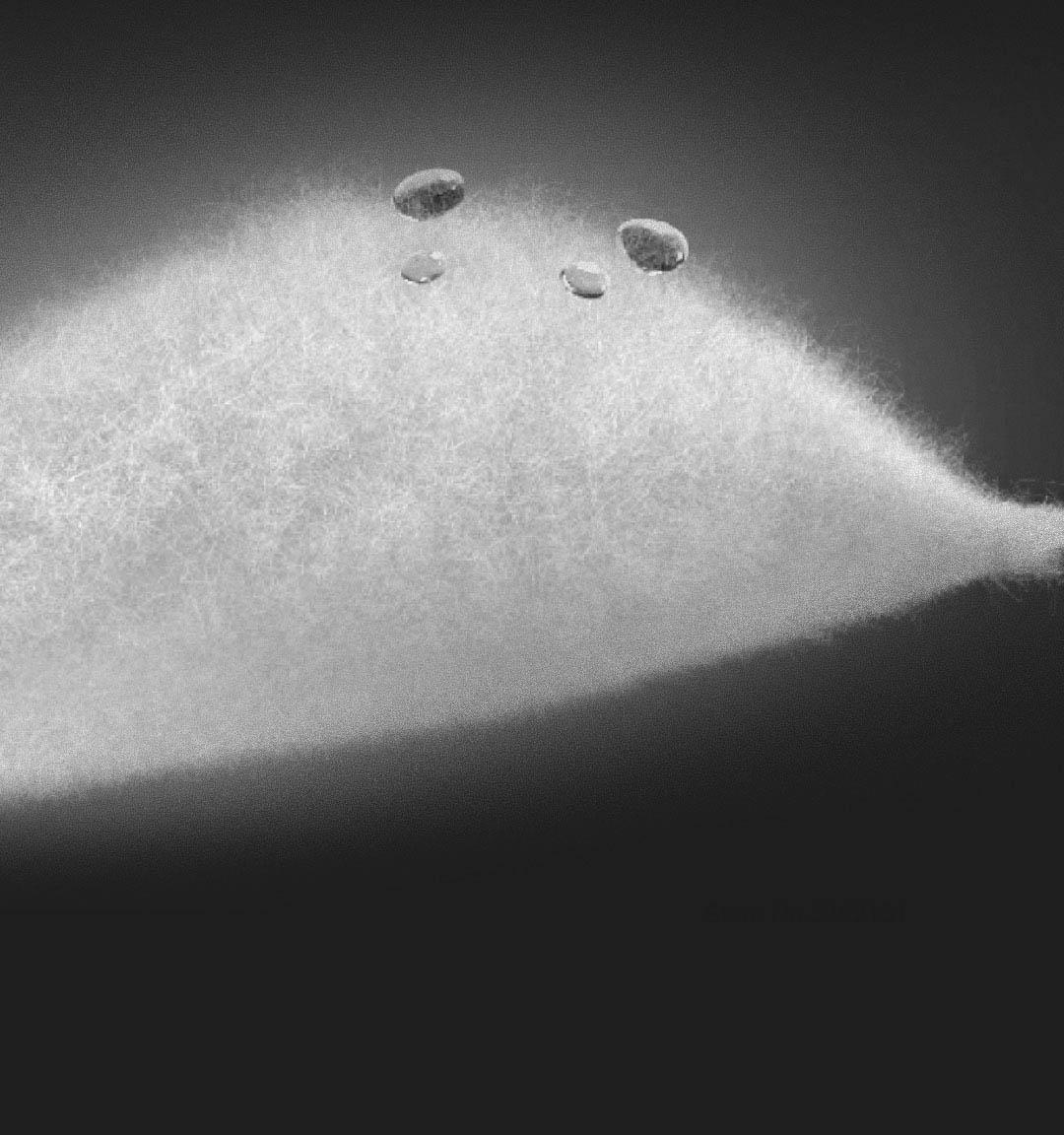 Charpa aerogel impermeável à prova de frio