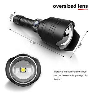 Image 2 - НОВЫЙ Ультра мощный светодиодный светильник P10, светодиодный, масштабируемый, светильник фонарь, USB, перезаряжаемый, водонепроницаемый, ультра яркий фонарик