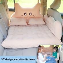 Car Inflatable Travel Air Mattress Bed Back Seat Sleep Pad Premium Portable Car Mattress Universal For Car SUV MPV Auto Interior