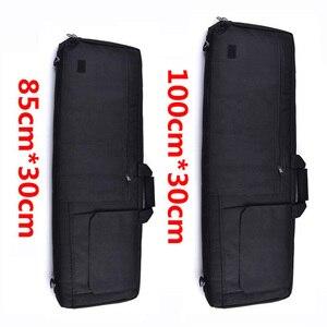 Image 2 - Черный/коричневый тактический Чехол для винтовки, страйкбольная кобура, сумка для оружия, тактический охотничий рюкзак, Военный Рюкзак, Сумка для кемпинга, рыболовных принадлежностей