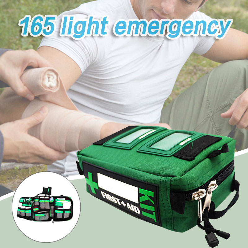 165pcs/Set Outdoor Survival Kits Emergency Gear Living Tools For Travel Hiking Camping @M23