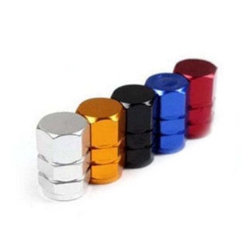 Eduton Practical Car Styling Car Wheel Tires Valve Dust Caps Auto Motorcycle Stem Caps Rocket Shape Valve Stem Caps Multi-Color