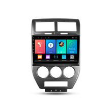 10.1 inch 2 din Car Radio Multimedia Video Player Navigation GPS Android 8.1 for Jeep Compass MK 2007 2008 2009 2010