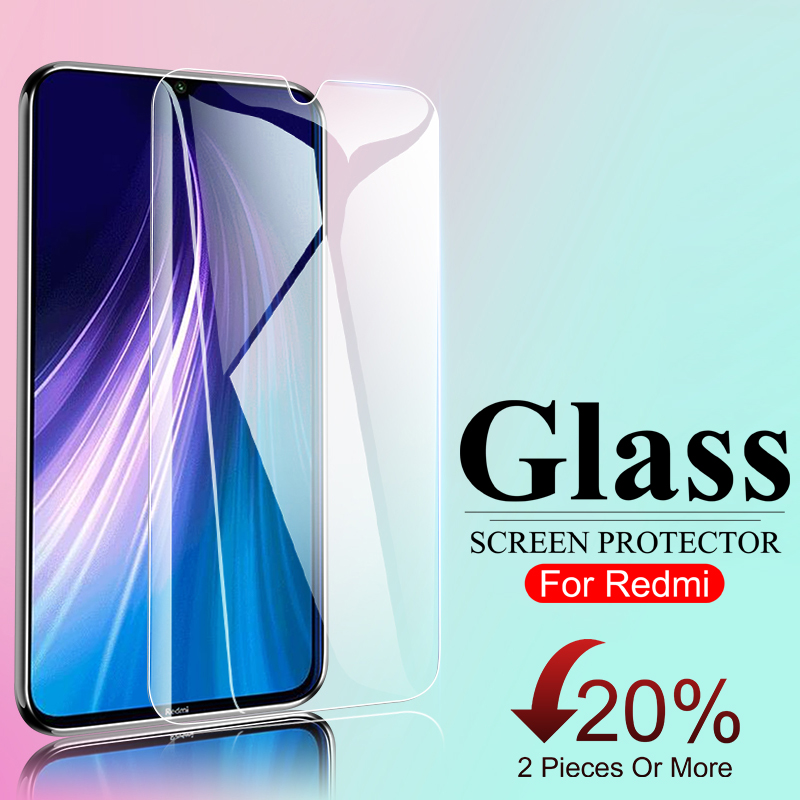 3D Full Screen Cover Protector Glass On For Xiaomi Redmi Note 7 8 9 Pro Max 9s Protective Tempered Glass For Redmi 6A 7A 8A Film(China)