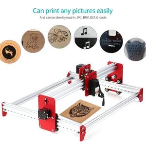 Image 1 - A3 Laser Machine DIY Desktop Mini Laser Graveermachine LiteFire A3 Software 500 mw/2500 mw/5500 mw 3040 Metalen Frame Cnc Router
