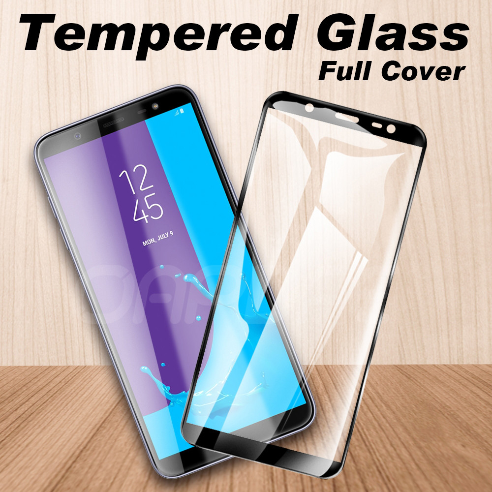 9D Full Cover Tempered Glass For Samsung Galaxy S7 J3 J5 J7 2016 2017 J2 J4 J6 J8 2018 Screen Protector Safety Protective Film
