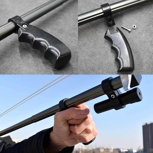High Precision Telescopic Slingshot High Power Rubber Band Slingshots with Red Laser Stainless Steel Outdoor Hunting Catapult 5