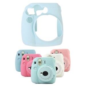 Image 2 - Fujifilm Instax Mini 8/8 +/9 용 부드러운 실리콘 카메라 가방 젤리 케이스 스킨 커버