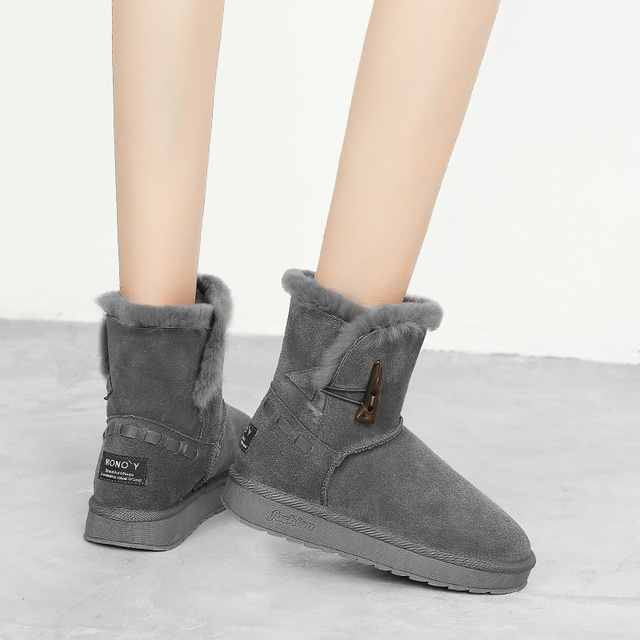 2019 Women Snow Boots Warm Fashion Snow
