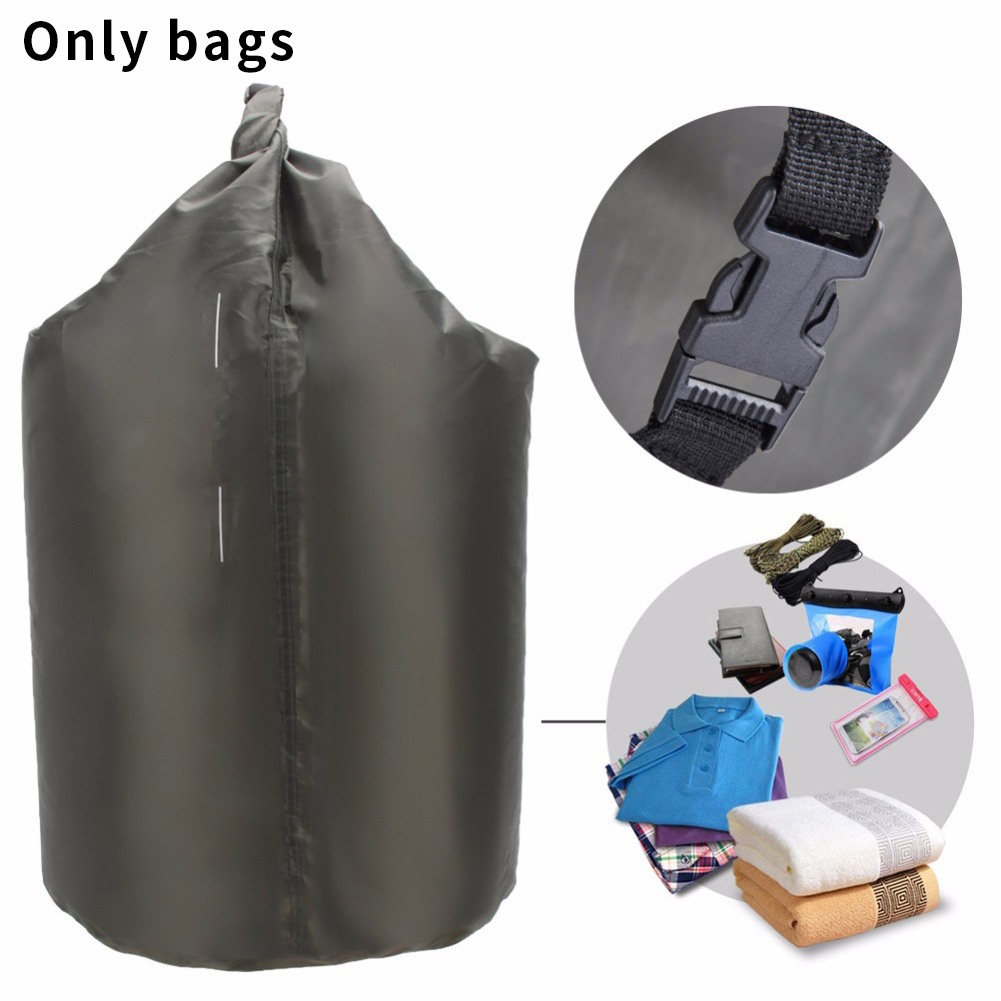 8L/40L/70L Waterproof Bag Large Capacity Dry Bag Sack For Camping Drifting Hiking Swimming Rafting Kayaking River Trekking Bags