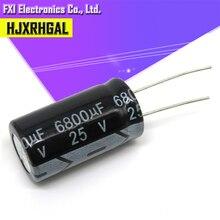 Condensateur électrolytique 25v 6800uf 16x31, 10 pièces, 25v 6800uf