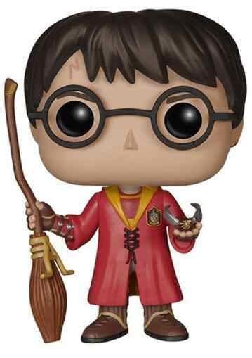 Película Harry Potter Hermione Ron Dobby Luna personajes Dumbledore 10cm muñeca de vinilo figura colección modelo Juguetes