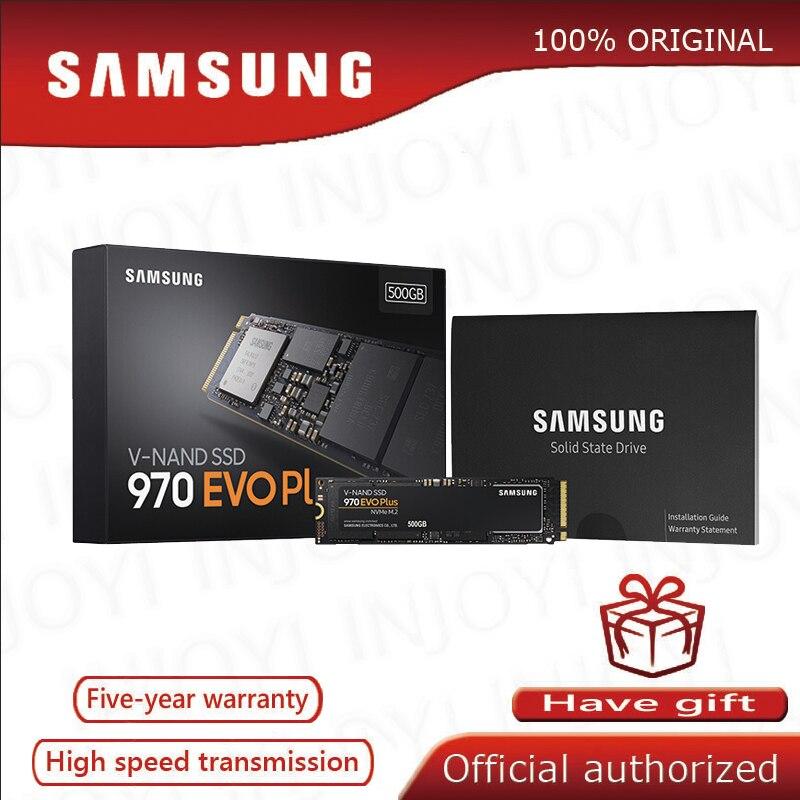 Samsung SSD 970 EVO Plus 250 ГБ NVMe M.2 2280 SSD 500 ГБ 1 ТБ M.2 Внутренний твердотельный накопитель TLC SSD PCIe 3,0x4, NVMe 1,3 ноутбук