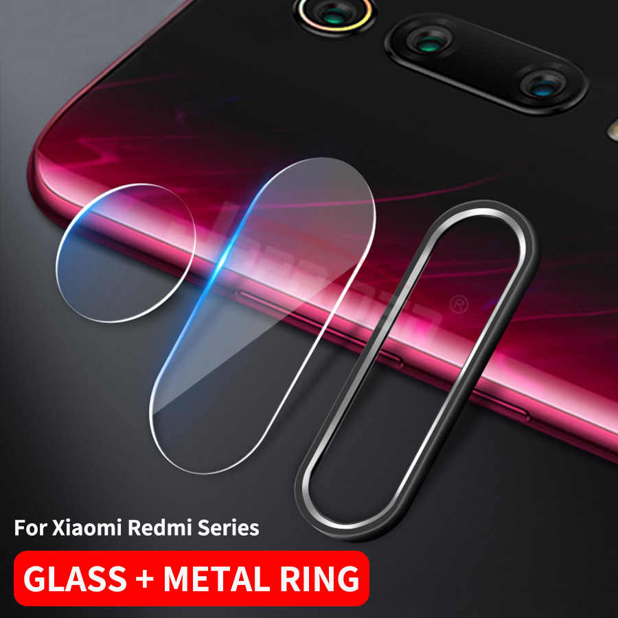 Mi A3 9T Pro Camera Lens Tempered Glass+Metal Rear Lens Ring Case For Xiaomi Mi 9T A3 8 9 SE A2 CC9 CC9E Redmi Note 7 K20 Pro