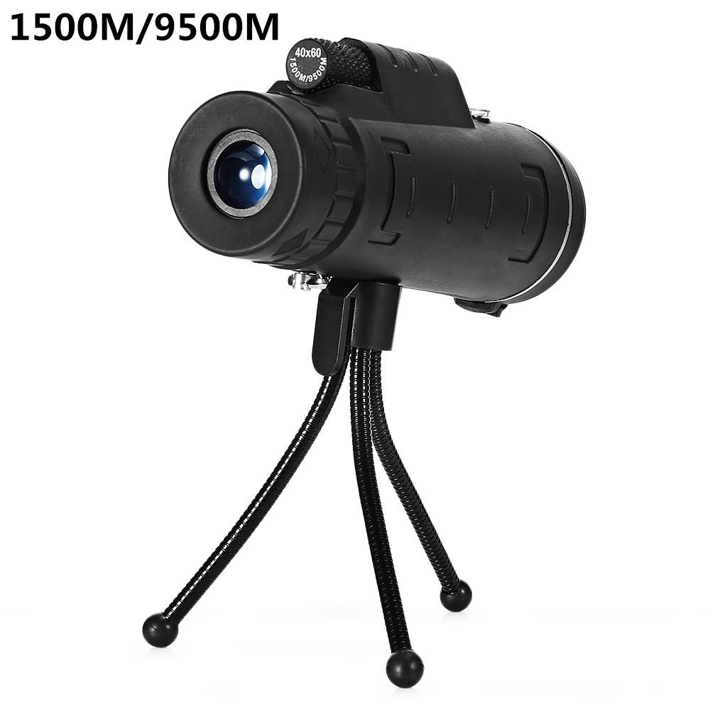 Outdoor <font><b>40X60</b></font> <font><b>Monocular</b></font> <font><b>BAK4</b></font> <font><b>Monocular</b></font> Telescope HD Night Vision Prism Scope image