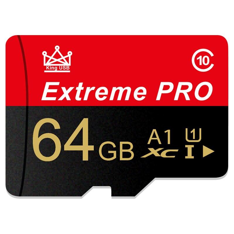 Smart SD Card 32GB High Speed Class 10 16GB/64GB Real Capacity 128GB Mini SD Memory Card TF Card For Smartphone