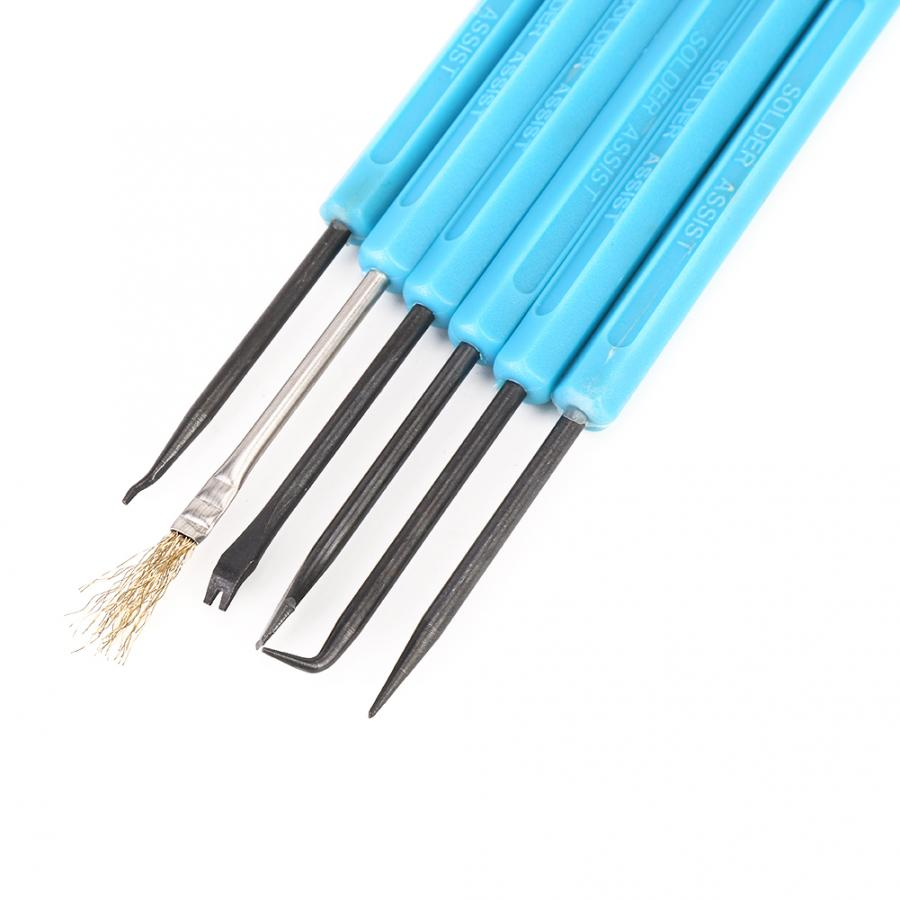 Double-Headed Solder Aid Tool Kit Welding Auxiliary For Desoldering SL
