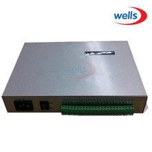 T 300K t300k cartão sd em linha através do controlador do módulo do pixel do diodo emissor de luz da cor completa do pc rgb 8 portos 8192 pixels ws2811 ws2801