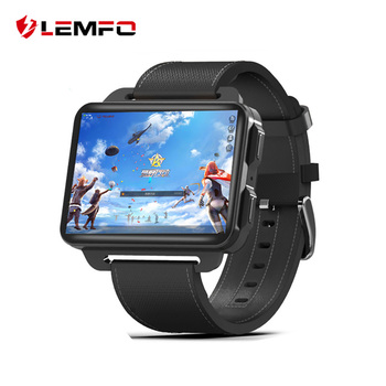 LEMFO LEM4 Pro 2.2 Inch Display 3G Smart Watch Android 5.1 1200 Mah Lithium Battery 1GB + 16GB Wifi Take Video Replaceable Strap