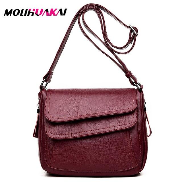 Heißer Verkauf 2019 Frauen Messenger Taschen Luxus Handtaschen Frauen Taschen Designer Hohe Qualität Leder Crossbody Schulter Taschen Sac EIN Haupt