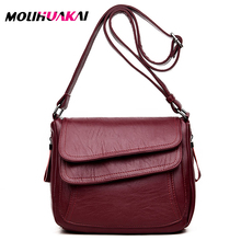 Hot Sale 2019 Women Messenger Bags Luxury Handbags Women Bags Designer High Quality Leather Crossbody Shoulder Bags Sac A Main
