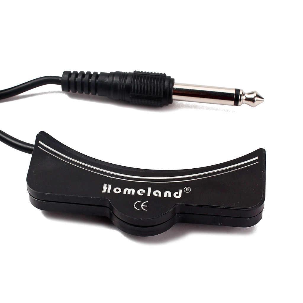 גיטרות Soundhole איסוף Arc צורת 6.35mm שקע 5m כבל כלי נגינה אבזר
