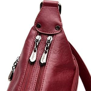 Image 5 - Brand Luxury Handbags Women Bags Designer Handbags High Quality Leaher Shoulder Crossbody Bags For Women 2018 Sac A Main Femme
