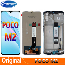 ORIGINAL 6.53'' For Xiaomi Poco M2 MZB9919IN M2004J19PI LCD Display Touch Screen Digitizer Panel Assembly