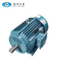 цена на Three phase ac motor Y200L-8-2 speed 2970 rpm 30kw 40hp high torque electric motor