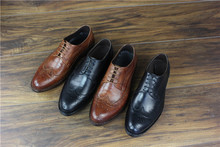 Goodyear Summer Business Formal Wear Men Genuine Leather Round Toe Shoes Trendy Shoes Wedding Size Code Derby Shoes Cow Leather goodyear handmade shoes men s formal wear business shoes leather men s shoes leather was settled