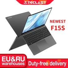 Mais novo teclast f15s windows 10 portátil 15.6 Polegada notebook 8gb ram 128gb rom intel apollo lago laptops 1920x1080 duplo wifi hdmi