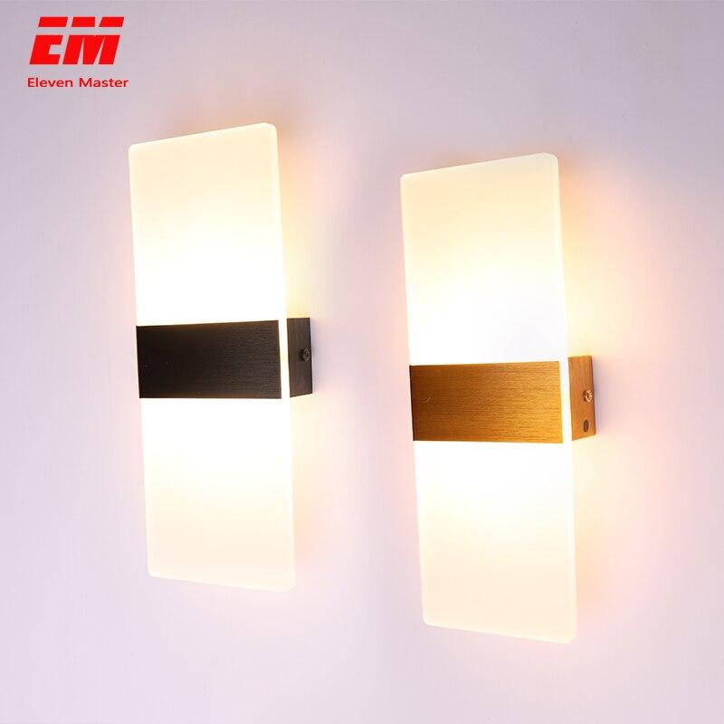 LED Wall Light 220V 110V Bedroom Bedside Light Living Room Balcony Aisle Wall Lamp Corridor Wall Sconce Lamp ZBD0028