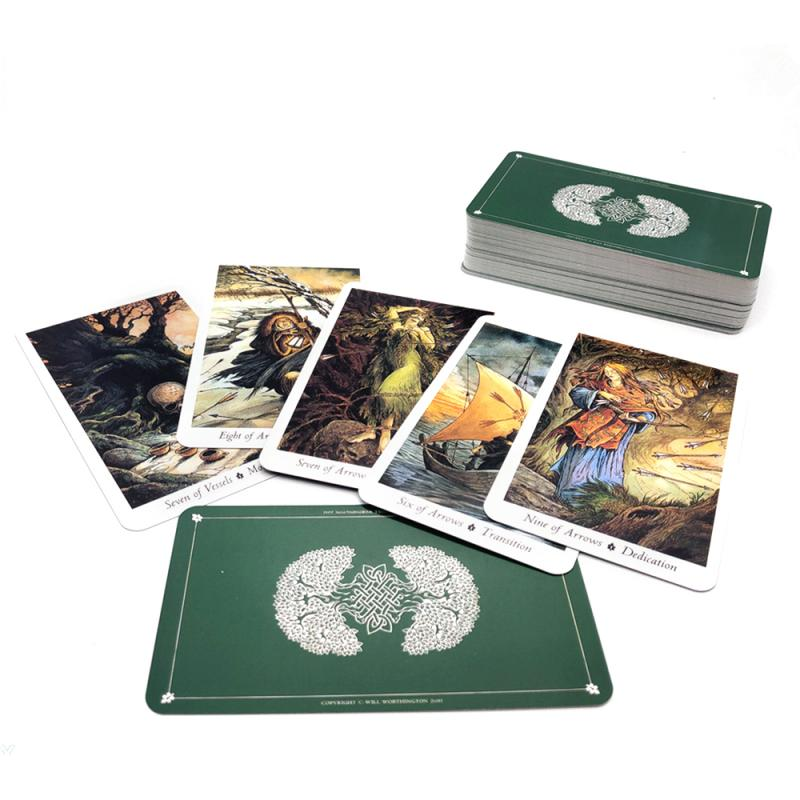 78X Tarot Animal Tarot High Quality Deck Board Game Game Card Full Version Divination Guide Destiny Board Game