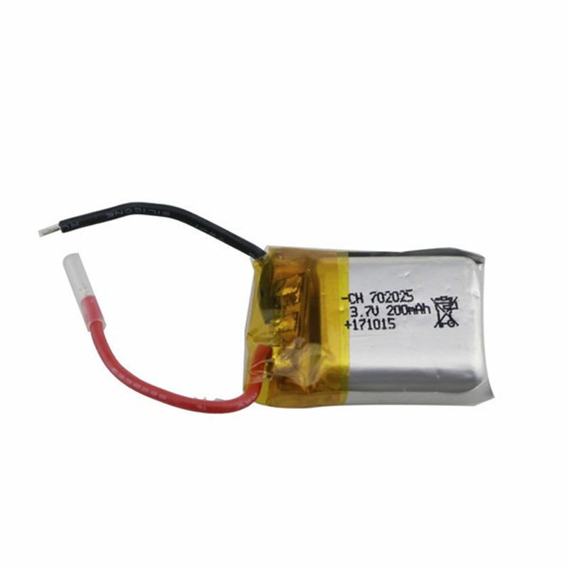 E59 Spare Parts <font><b>3.7V</b></font> <font><b>200MAH</b></font> <font><b>Battery</b></font> For RC Racing Drone FPV Quadcopter Selfie Drone Replacement Accessories image