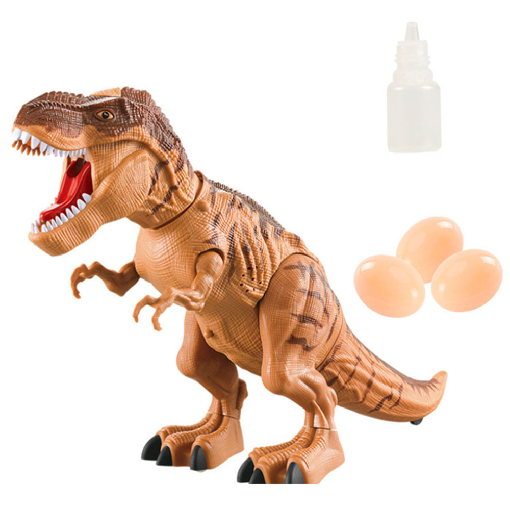 Children's Electric Spray Egg Dinosaur Toy With Light And Sound Projection Projection Egg Dinosaur Model