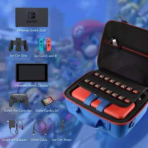 Image 2 - Multi function Carrying Bag for Nintend Switch Console EVA Storage Game Case for Nintendo Switch Pro Joy con Accessories