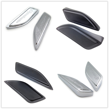 цена на For Suzuki Hayabusa Gsxr1300 1986-2012 2010 2011 aftermarket free shipping motorcycle parts Tank Pads Side Cover CHROMED  BLACK