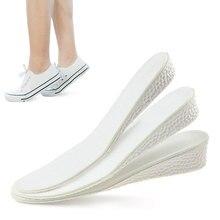 1 пара унисекс рост увеличение невидимый стелька выше вставки удобные обувь ступни обувь верх прокладка подушка обувь прокладка пятка прокладки