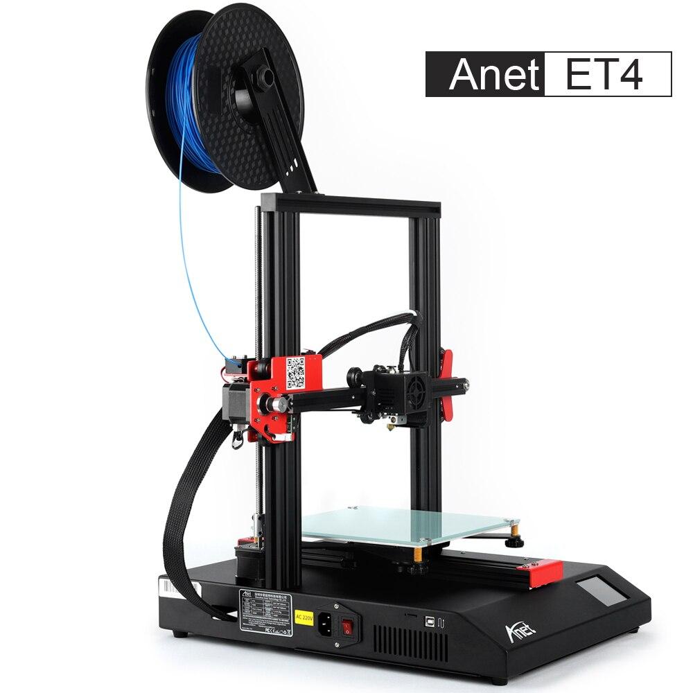 Nova Anet A8 Plus Et4 Impressora 3d Impressora De Alta Precisão Impressora 3d Todo O Metal Diy Kit Impressora Impressora 3d Anet Loja Fábrica