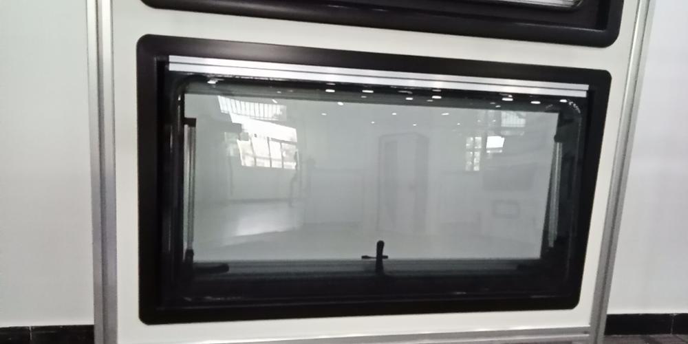 Caravana de rv campista van 1000mm * 600mm articulada push-para fora janela ventilação hatch caravana motor móvel casa barco