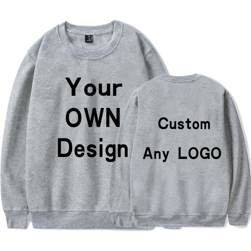 BTFCL Hoodie Print Like Photo or Logo Text DIY Your OWN Design 100% Cotton 2019 Customized Men/Women Sweatshirt