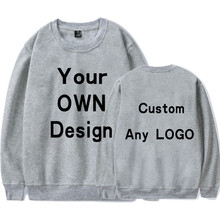 BTFCL Hoodie Print Like Photo or Logo Text DIY Your OWN Design 100% Cotton 2019 Customized Men/Women Sweatshirt