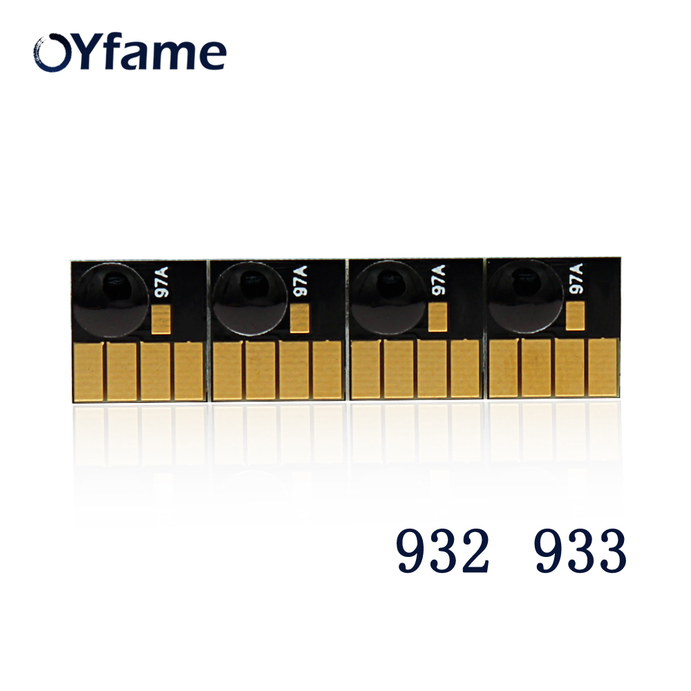 OYfame For HP 932 933 ARC Chips For HP932 932XL 933XL For HP Officejet Pro 6600 6700 6100 7610 7612 Cartridge Permanent Chips