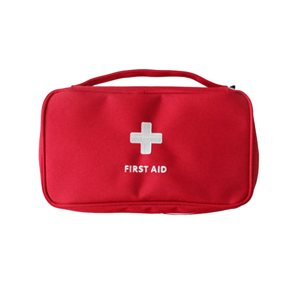 Portable Household Medicine Bag Multi-Layer Empty First Aid Pouch Bag Outdoor Car Bag Travel Rescue Bag For Emergency Case